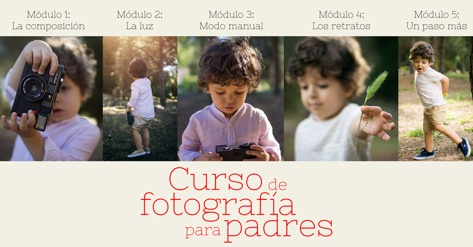 Curso de fotografía para madres y padres