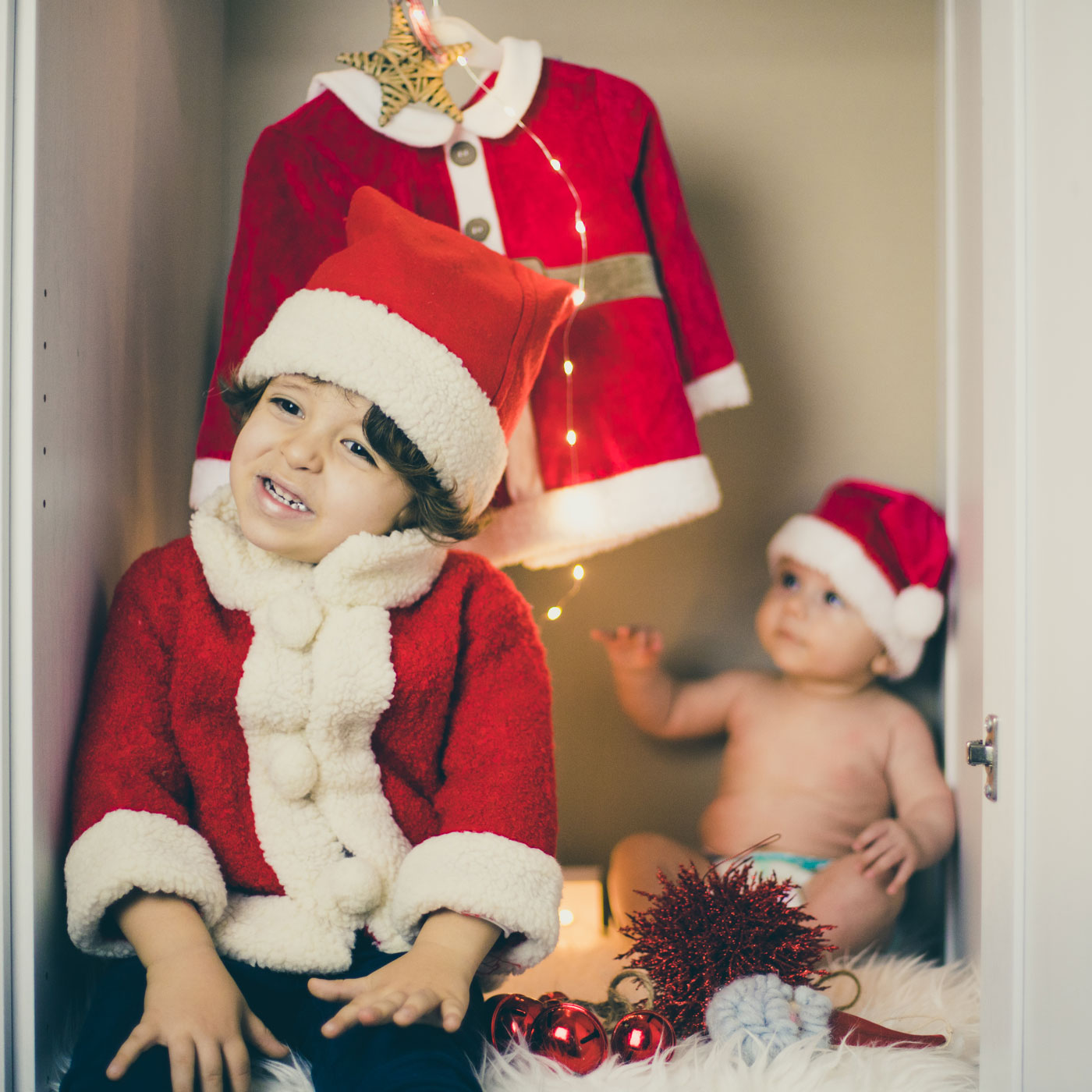 foto de navidad para felicitar a amigos y familia