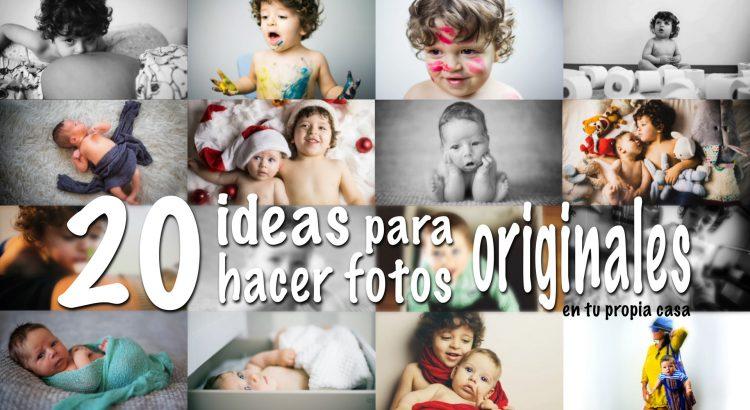 20 Ideas Para Hacer Fotos En Tu Casa Y Que Parezcan